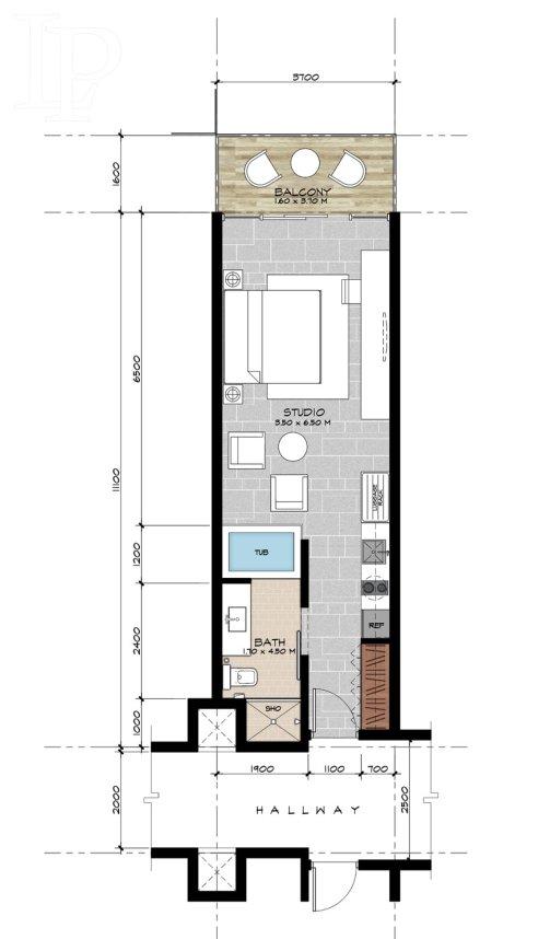 Investiční příležitost v Dubaji, k prodeji luxusní studio 46m2