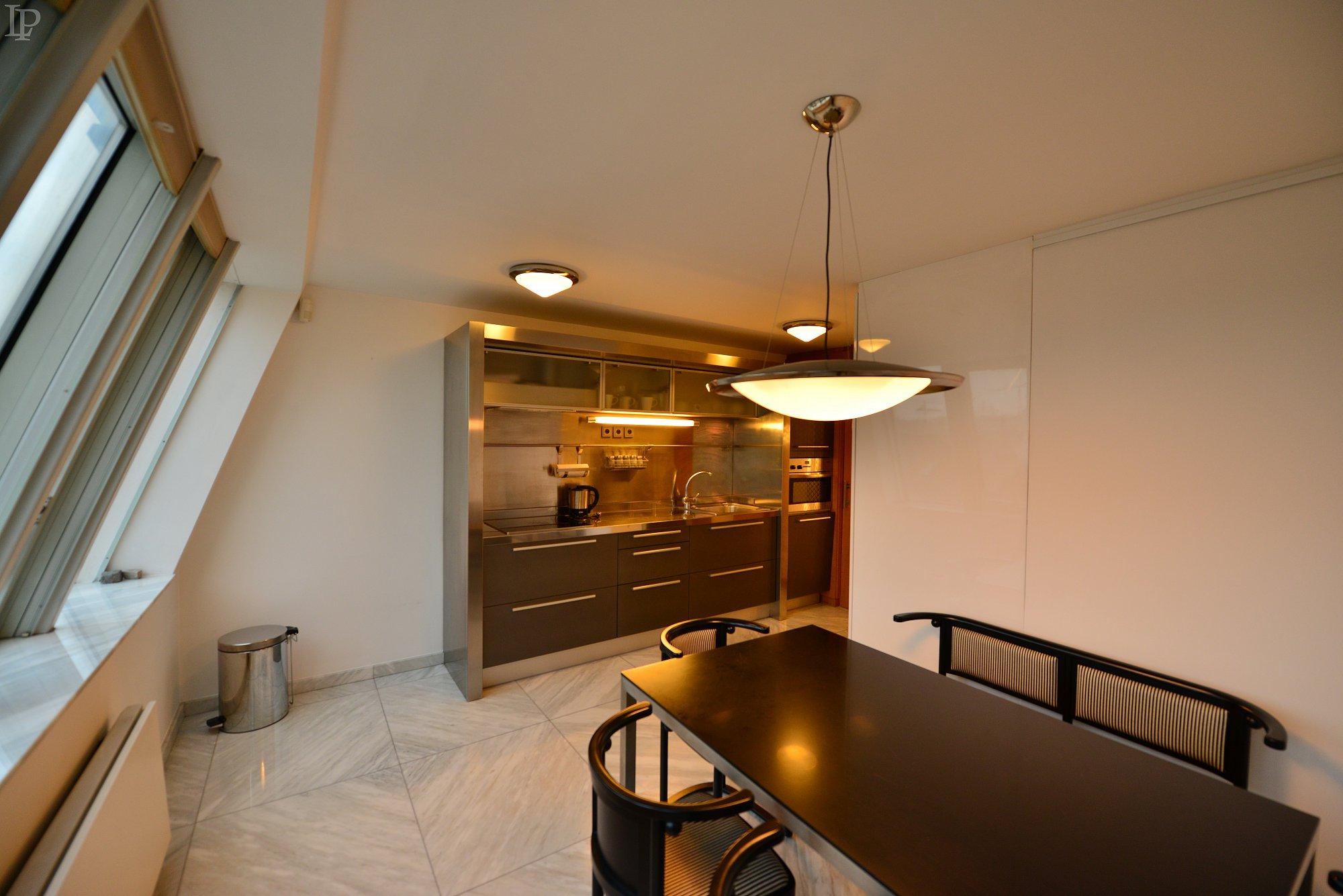Designový apartmán s výhledem na Pražský hrad, Praha 1