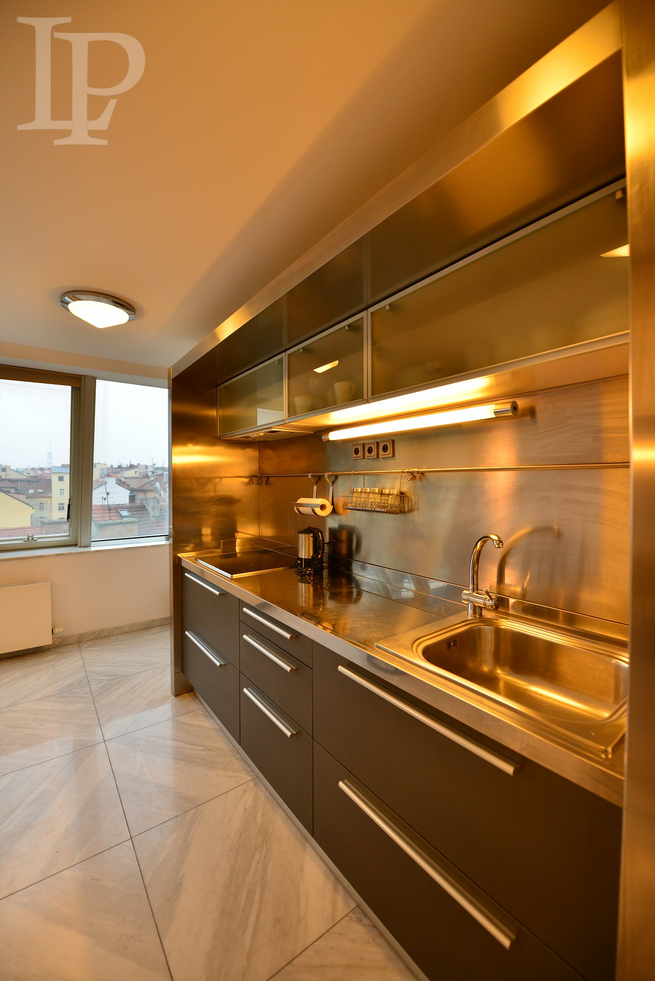Luxury fully furnished apartment with a view of Prague Castle and Charles Bridge, Prague 1