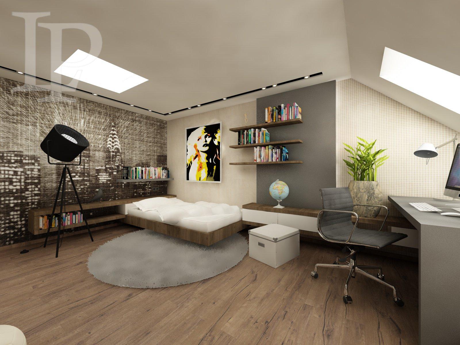 Modern housing directly at metro in Residence Palmovka 3 + kitchenette , 62 m2