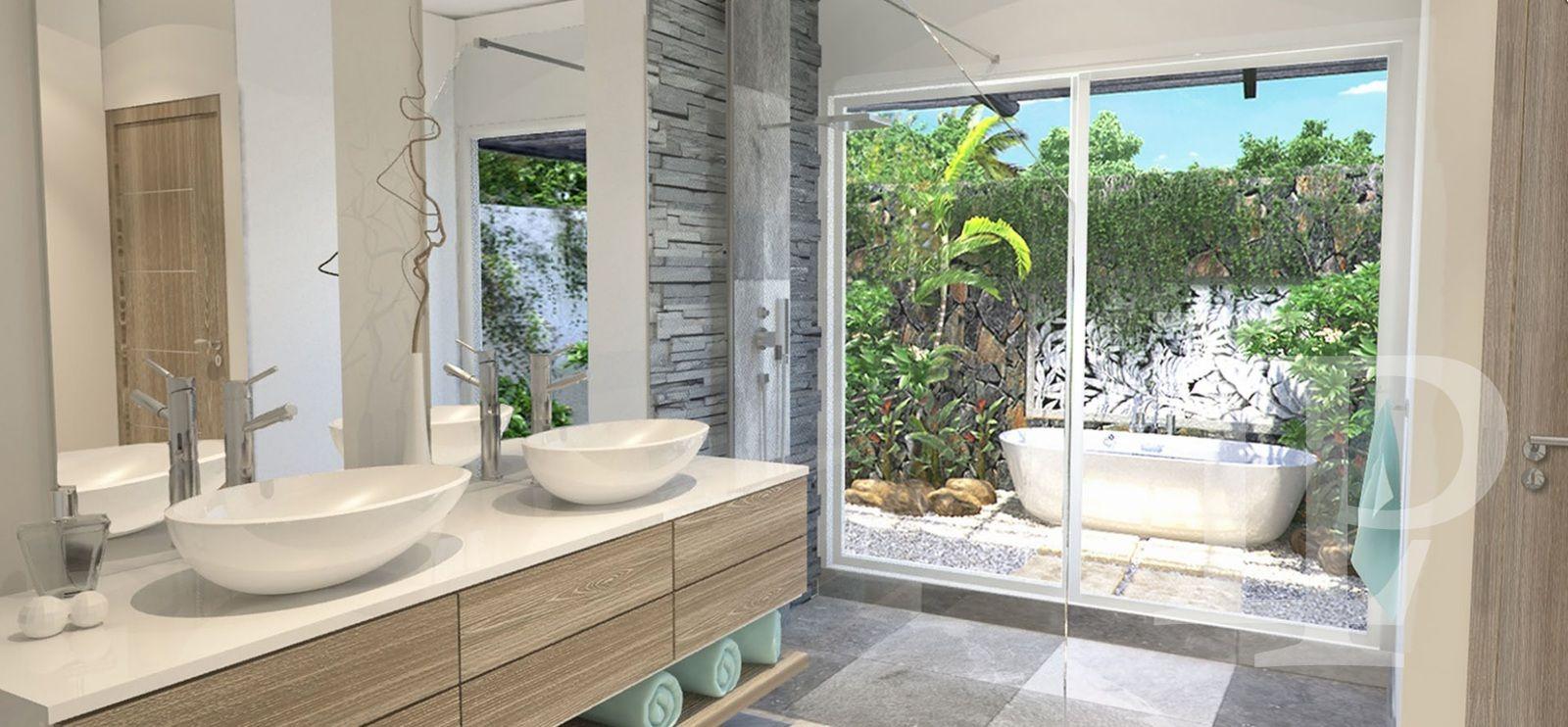 Luxusní vybavená vila, 3+kk Grand Baie, Mauricius, 126 m2.
